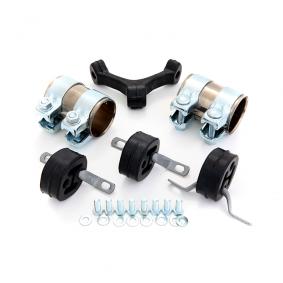 Montagesatz, Abgasanlage VW PASSAT Variant (3B6) 1.9 TDI 130 PS ab 11.2000 EBERSPÄCHER Montagesatz, Abgasanlage (12.187.90) für