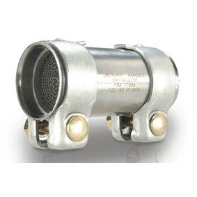 OBERLAND Umrüst-Katalysator 122.155 für AUDI COUPE (89, 8B) 2.3 quattro ab Baujahr 05.1990, 134 PS