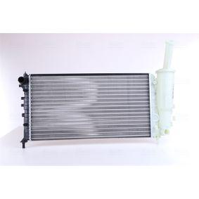 Radiator, engine cooling 61881 PUNTO (188) 1.2 16V 80 MY 2002