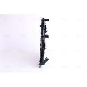 Ψυγείο, ψύξη κινητήρα Καθαρές διαστάσεις ψυγείου: 630 x 320 x 32 mm με OEM αριθμός 6K0121253A