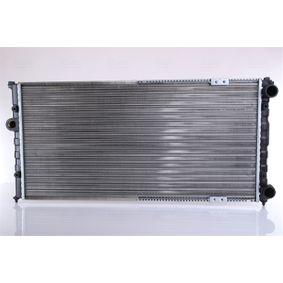Ψυγείο, ψύξη κινητήρα Καθαρές διαστάσεις ψυγείου: 630 x 299 x 26 mm με OEM αριθμός 6K0121253A