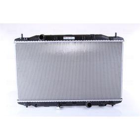 hűtő, motorhűtés 374 x 677 x 26 mm 68135A