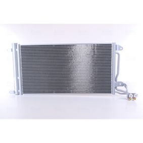 Kondensator, Klimaanlage Netzmaße: 615 x 334 x 16 mm mit OEM-Nummer 6R0 820 411 P