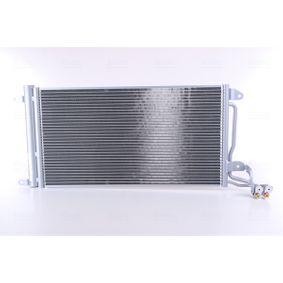 NISSENS  940093 Kondensator, Klimaanlage Netzmaße: 615 x 334 x 16 mm