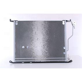 Kondensator, Klimaanlage Netzmaße: 620 x 478 x 16 mm mit OEM-Nummer A220 500 0054