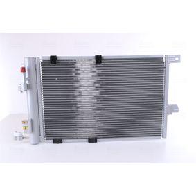 Kondensator, Klimaanlage Netzmaße: 575 x 377 x 16 mm mit OEM-Nummer 9 118 897