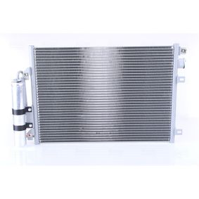Kondensator, Klimaanlage 94439 CLIO 2 (BB0/1/2, CB0/1/2) 1.5 dCi Bj 2006
