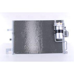 NISSENS  94504 Kondensator, Klimaanlage Netzmaße: 553 x 344 x 16 mm