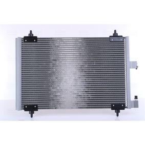 Kondensator, Klimaanlage Netzmaße: 560 x 361 x 16 mm mit OEM-Nummer 96 459 747 80