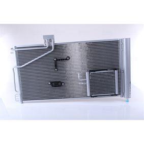 Kondensator, Klimaanlage Netzmaße: 683 x 373 x 16 mm mit OEM-Nummer A203 500 13 54