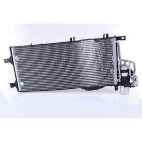 Kondensator, Klimaanlage Netzmaße: 588 x 259 x 16 mm mit OEM-Nummer 13 140 750