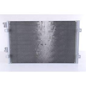 Kondensator, Klimaanlage Kältemittel: R 134a mit OEM-Nummer 5017405AB