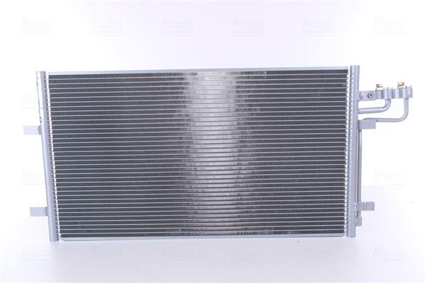 NISSENS  94663 Kondensator, Klimaanlage Netzmaße: 670 x 381 x 16 mm