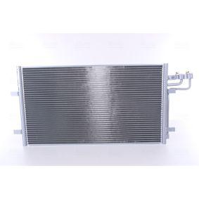 Kondensator, Klimaanlage Netzmaße: 670 x 381 x 16 mm mit OEM-Nummer 3M5H 19710 CC
