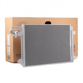 Kondensator, Klimaanlage Netzmaße: 580 x 401 x 16 mm mit OEM-Nummer 1K0820411AH