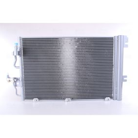 Kondensator, Klimaanlage Kältemittel: R 134a mit OEM-Nummer 93 178 958