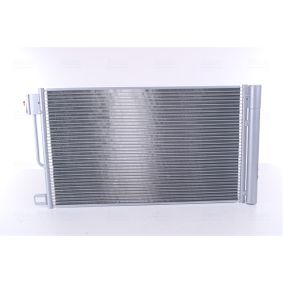 Kondensator, Klimaanlage Kältemittel: R 134a mit OEM-Nummer 51 931 470
