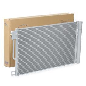 Kondensator, Klimaanlage Kältemittel: R 134a mit OEM-Nummer 13 31 0103