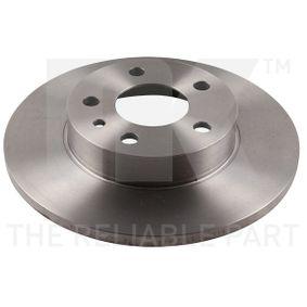 Bremsscheibe Bremsscheibendicke: 11,00mm, Felge: 5,00-loch, Ø: 240mm mit OEM-Nummer 60670804