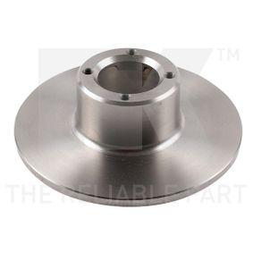 Bremsscheibe Bremsscheibendicke: 9,60mm, Felge: 4,00-loch, Ø: 214mm mit OEM-Nummer 21 A 2612