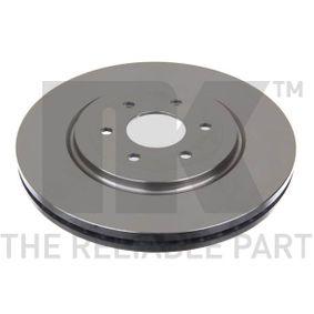 Bremsscheibe Bremsscheibendicke: 28mm, Felge: 6-loch, Ø: 320mm mit OEM-Nummer 40206-EB320