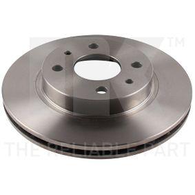 Bremsscheibe Bremsscheibendicke: 20,00mm, Felge: 4,00-loch, Ø: 239mm mit OEM-Nummer 21103501070