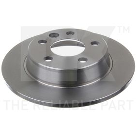 Bremsscheibe Bremsscheibendicke: 10mm, Felge: 5-loch, Ø: 268mm mit OEM-Nummer 1 137 985