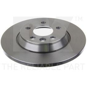 Bremsscheibe Bremsscheibendicke: 13,50mm, Felge: 5,00-loch, Ø: 294mm mit OEM-Nummer 7D0.615.601A
