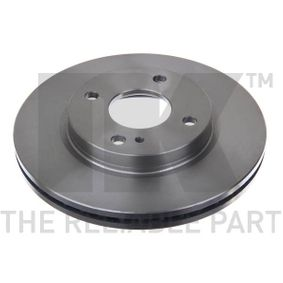 Brake Disc Brake Disc Thickness: 23mm, Rim: 4-Hole, Ø: 258mm with OEM Number 1892668