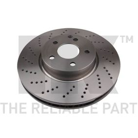 Disco freno Spessore disco freno: 32mm, Cerchione: 5-fori, Ø: 322mm con OEM Numero A0004213012