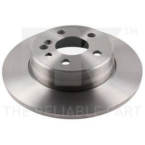 Bremsscheibe Bremsscheibendicke: 12,00mm, Felge: 5,00-loch, Ø: 290mm mit OEM-Nummer 140.423.0612