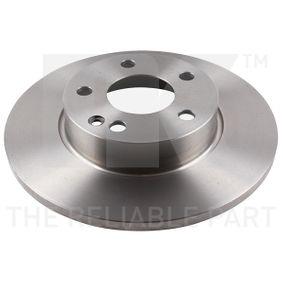 Bremsscheibe Bremsscheibendicke: 12,20mm, Felge: 5,00-loch, Ø: 276mm mit OEM-Nummer A169 421 00 12