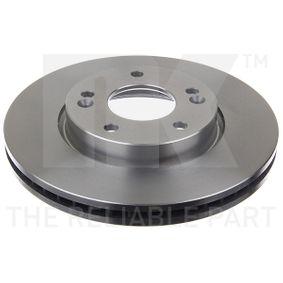 Brake Disc Brake Disc Thickness: 26mm, Rim: 5-Hole, Ø: 280mm with OEM Number S5171 22K100