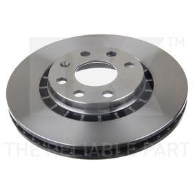 Bremsscheibe Bremsscheibendicke: 24mm, Felge: 4-loch, Ø: 256mm mit OEM-Nummer 96162249