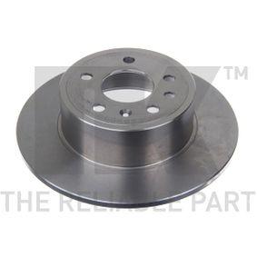 Bremsscheibe Bremsscheibendicke: 10,00mm, Felge: 5,00-loch, Ø: 286mm mit OEM-Nummer 48 37 027