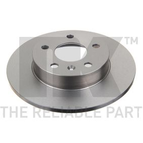 Bremsscheibe Bremsscheibendicke: 10mm, Felge: 5-loch, Ø: 264mm mit OEM-Nummer 95526658