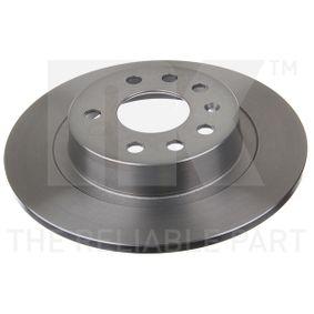 Bremsscheibe Bremsscheibendicke: 10,00mm, Felge: 5,00-loch, Ø: 278mm mit OEM-Nummer 93 184 247