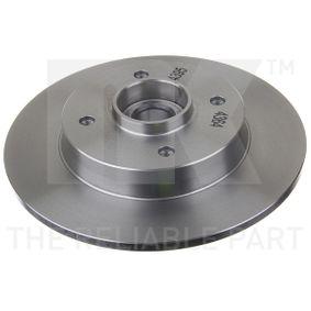 Bremsscheibe Bremsscheibendicke: 9,00mm, Felge: 4,00-loch, Ø: 249mm mit OEM-Nummer 4249-66