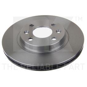 Bremsscheibe Bremsscheibendicke: 20,5mm, Felge: 4-loch, Ø: 259mm mit OEM-Nummer 77 01 205 653