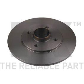 Bremsscheibe Bremsscheibendicke: 8,00mm, Felge: 4,00-loch, Ø: 238mm mit OEM-Nummer 77.01.204.302