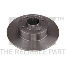 Bremsscheibe Bremsscheibendicke: 8,00mm, Felge: 4,00-loch, Ø: 240mm mit OEM-Nummer 8200038305
