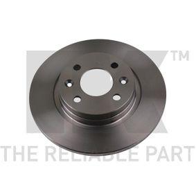Bremsscheibe Bremsscheibendicke: 12,00mm, Felge: 4,00-loch, Ø: 259mm mit OEM-Nummer 40 20 653 45R