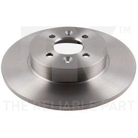 Bremsscheibe Bremsscheibendicke: 12,00mm, Felge: 4,00-loch, Ø: 280mm mit OEM-Nummer 77.01.207.227