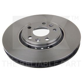 Bremsscheibe Bremsscheibendicke: 28,00mm, Felge: 5,00-loch, Ø: 320mm mit OEM-Nummer 40 20 641 55R