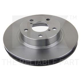 Bremsscheibe Bremsscheibendicke: 24mm, Felge: 5-loch, Ø: 260mm mit OEM-Nummer 26300AE040