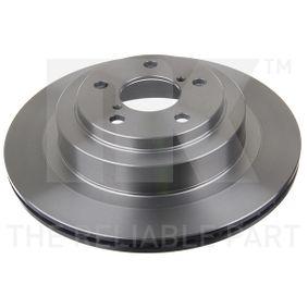 Bremsscheibe Bremsscheibendicke: 18,00mm, Felge: 5,00-loch, Ø: 290mm mit OEM-Nummer 26700 AE081