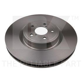 Bremsscheibe Bremsscheibendicke: 30,00mm, Felge: 5,00-loch, Ø: 326mm mit OEM-Nummer 26300FE000