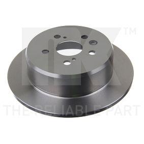 Disque de frein Épaisseur du disque de frein: 10mm, Jante: 5Trou, Ø: 269mm avec OEM numéro 4243120200