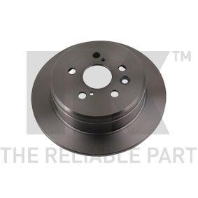 Disque de frein Epaisseur du disque de frein: 10,00mm, Jante: 5,00Trou, Ø: 269mm avec OEM numéro 4243120320