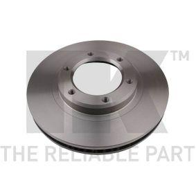 Bremsscheibe Bremsscheibendicke: 32,00mm, Felge: 6,00-loch, Ø: 311mm mit OEM-Nummer 4351260090